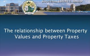 Property Taxes-Values Button