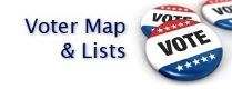 Voter Map and Lists with voter buttons