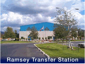 Ramsey Transfer Station building