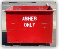 Ashes Only Bin